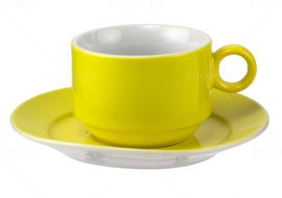 Чайная пара: чашка 240 мл и блюдце Market Union