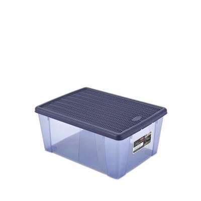 Ящик универсальный 15 л с крышкой Stefanplast Elegance Line
