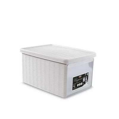 Ящик универсальный 15 л с боковой дверцей Stefanplast Elegance Line
