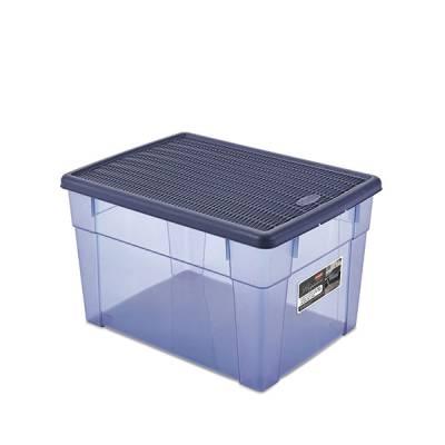 Ящик универсальный 20 л с крышкой Stefanplast Elegance Line