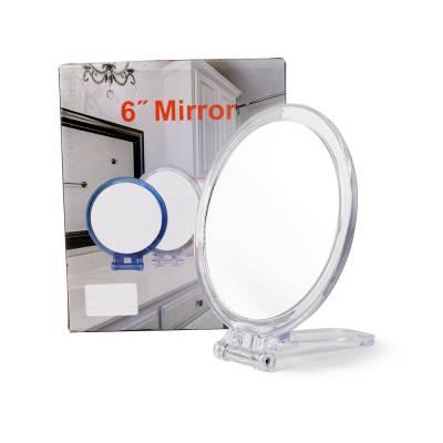 Зеркало овальное 16,5х29,5 см  на подставке Market Union